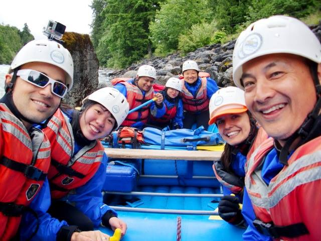 Hyak River Rafting, Whitewater rafting, chilliwack river, YVR Bloggers