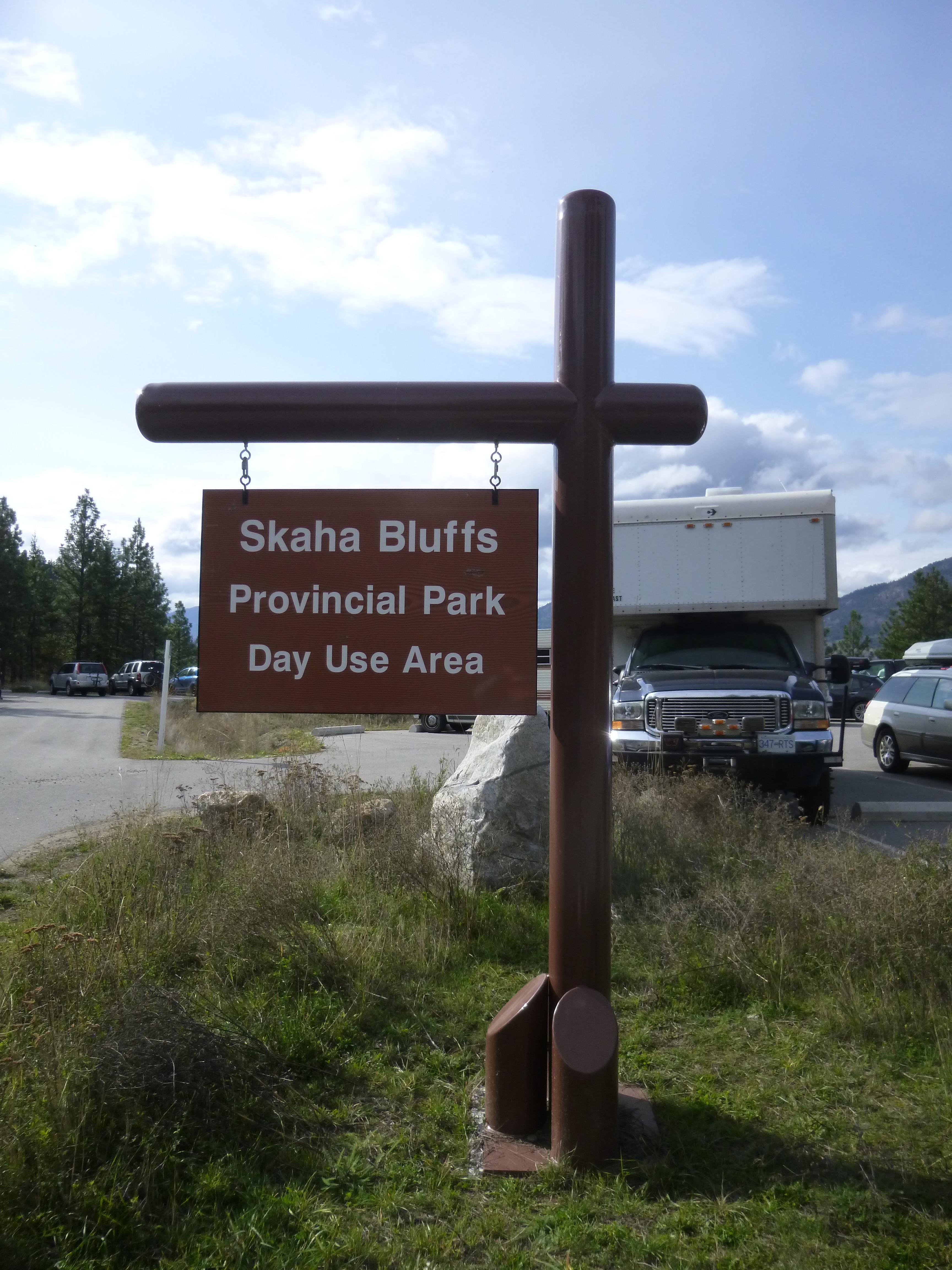 Skaha Bluffs Provincial Park rock climbing