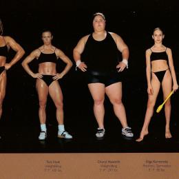 different body types olympic athletes howard schatz