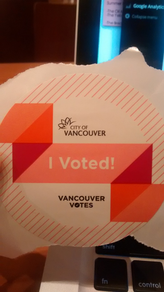 i voted vancouver elections