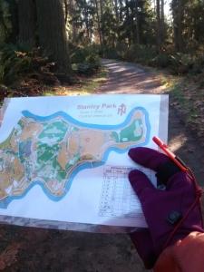 orienteering stanley park vancouver