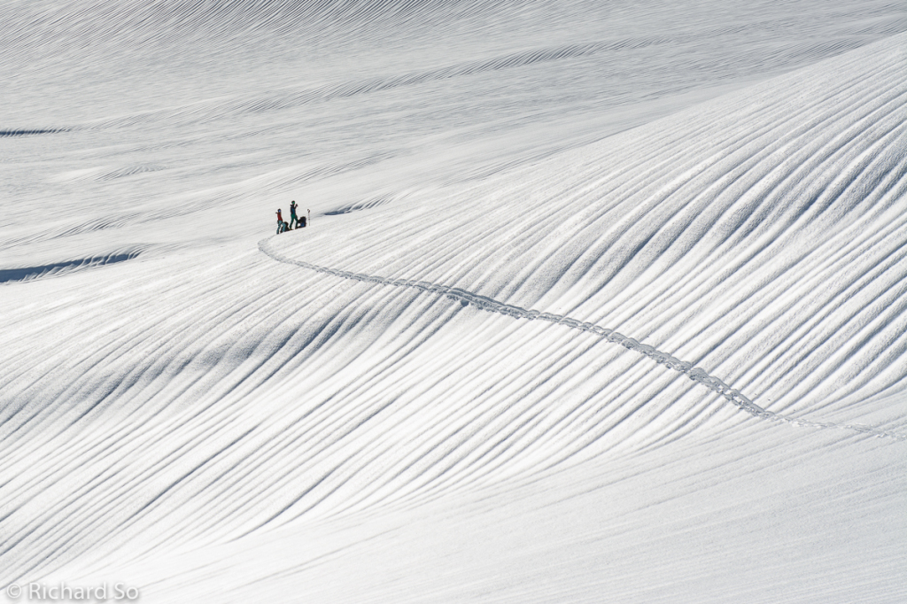 backcountry skiing, ski mountaineering, british columbia, skin tracks