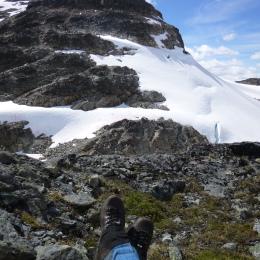 Tenquille peak, british columbia, gaiters