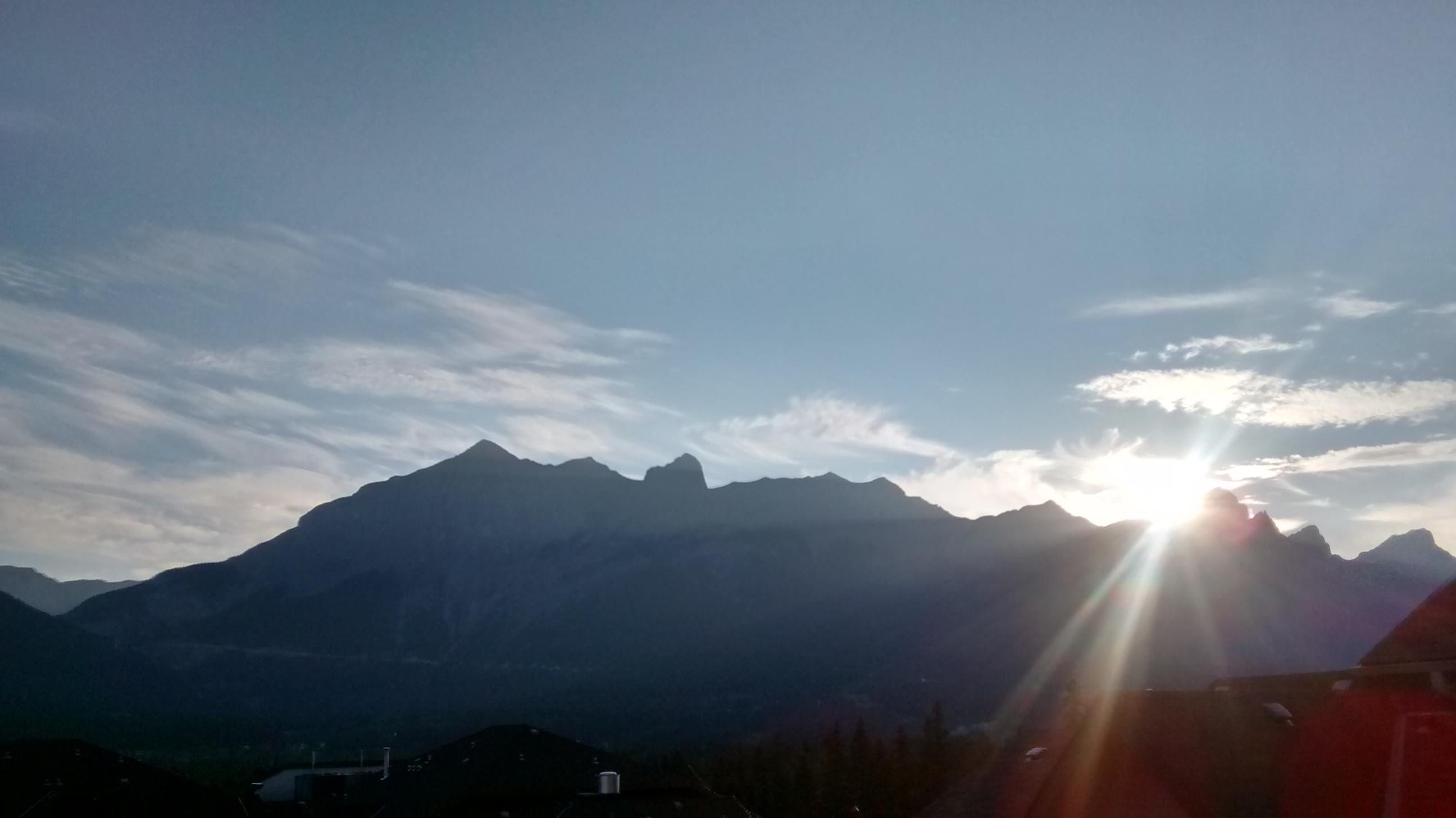 canmore, mountains, rockies, alberta, trail, run, sunset