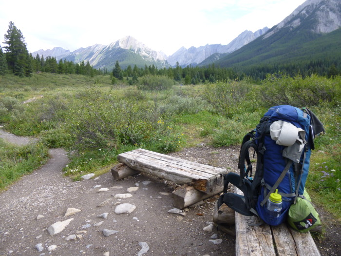Banff, Ink pots, backpack, hiking, alberta