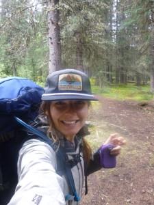 hiking, selfie, banff