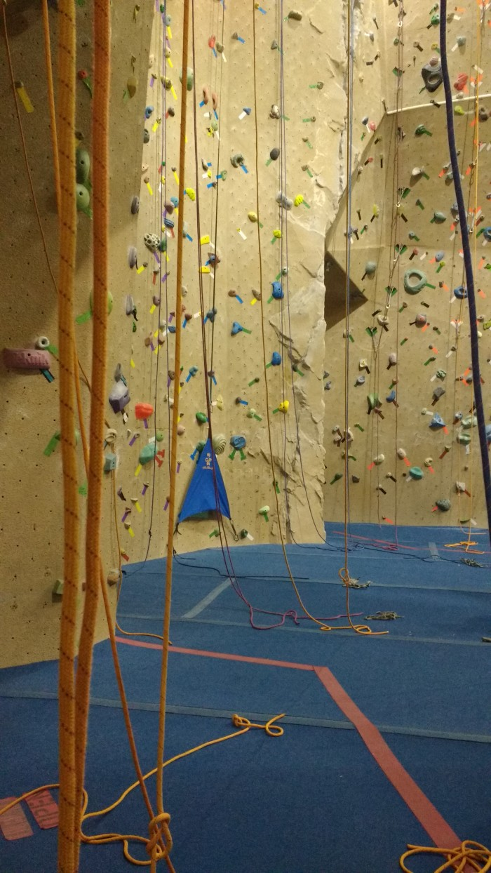 rock climbing, climbing gym, ropes, holds