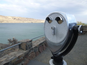lookout, faces in things, reservoir