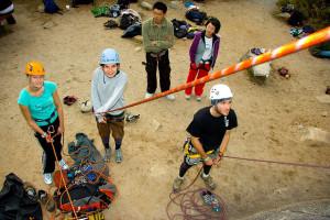 rock climbing, rope, belay, outdoors, course