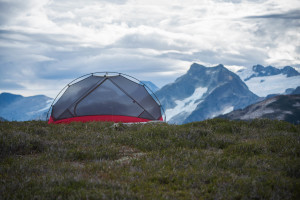 tent, camping, mountain