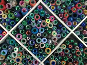 thread, textile, colours