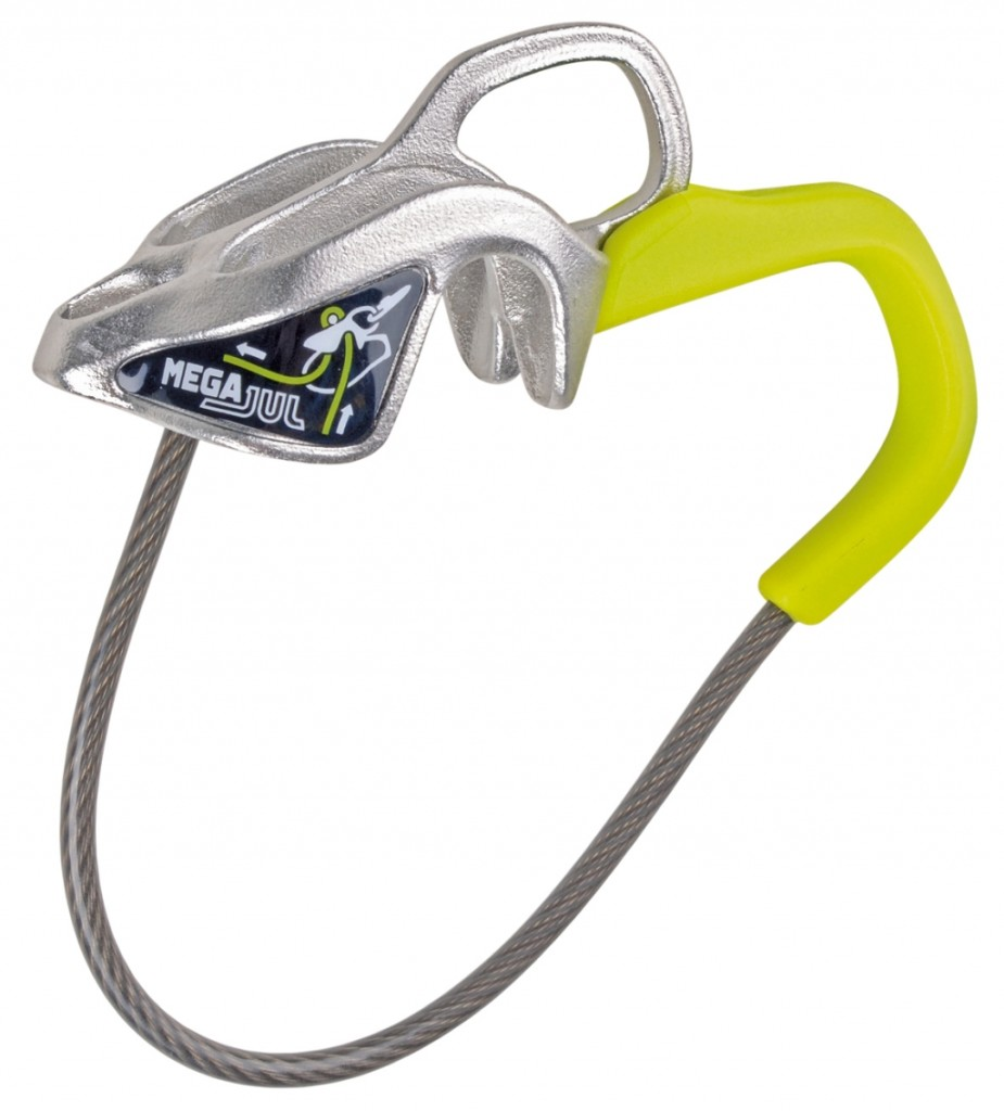 edelrid, mega jul, belay, rappel, device, auto-lock