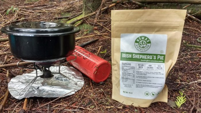 nomad nutrition, camp stove, trail food, camp food