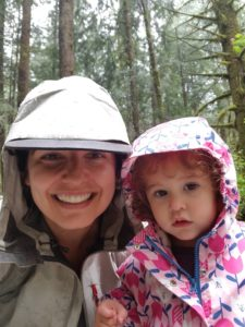 selfie, forest, hiking, toddler