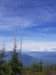bowen island, bowen lookout, north shore, hiking, st mark's