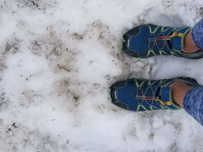 snow, hiking, trail running