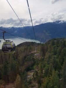 sea to sky gondola, sea to summit trail, howe sound, squamish, hiking