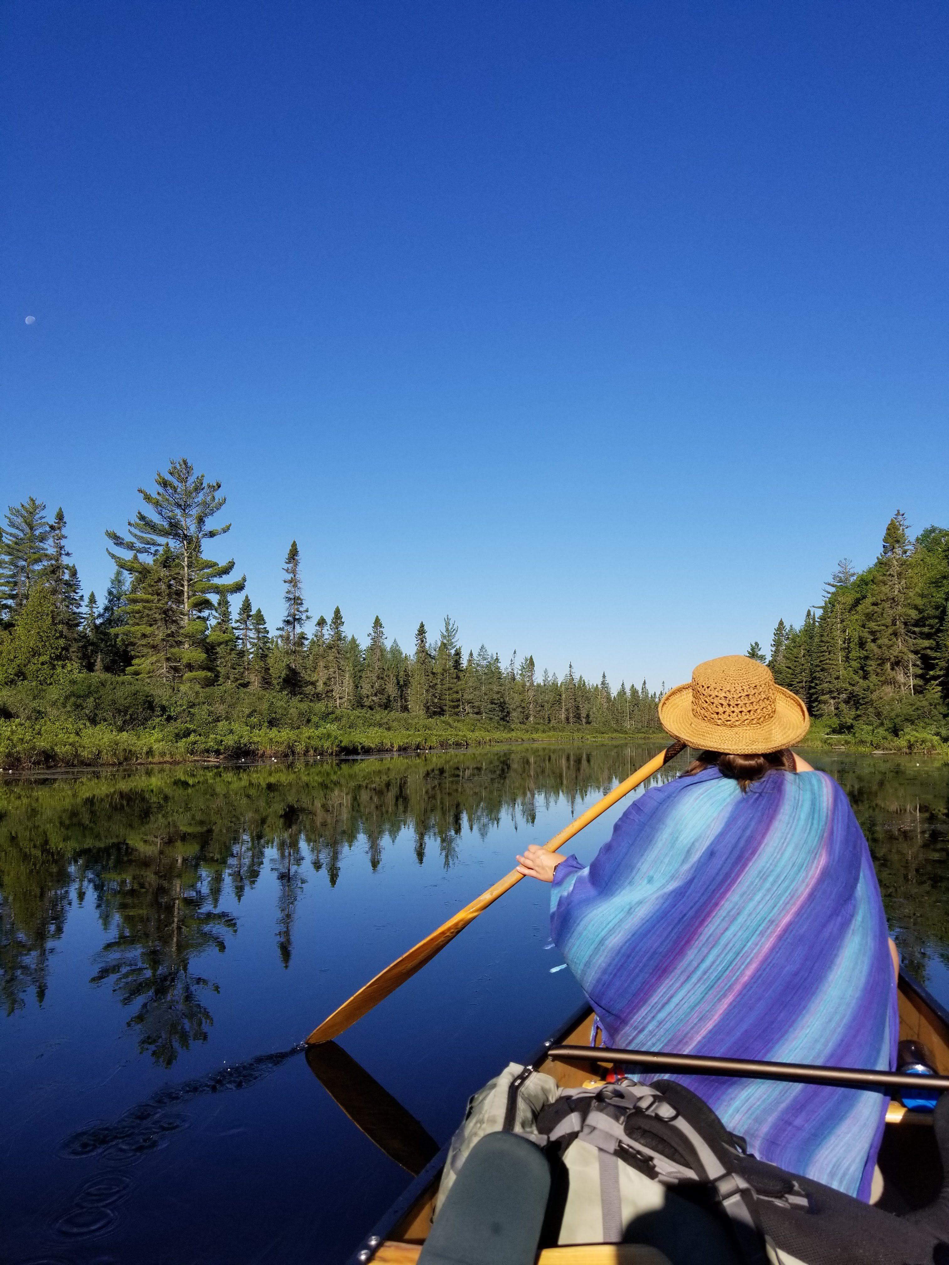 algonquin park, canoeing, canoer, paddling