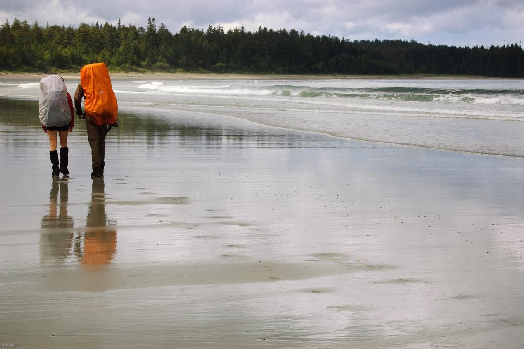 cape scott, rich so, backpacker, hiker, pacific northwest